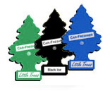 Little Trees carwash vending retail packages